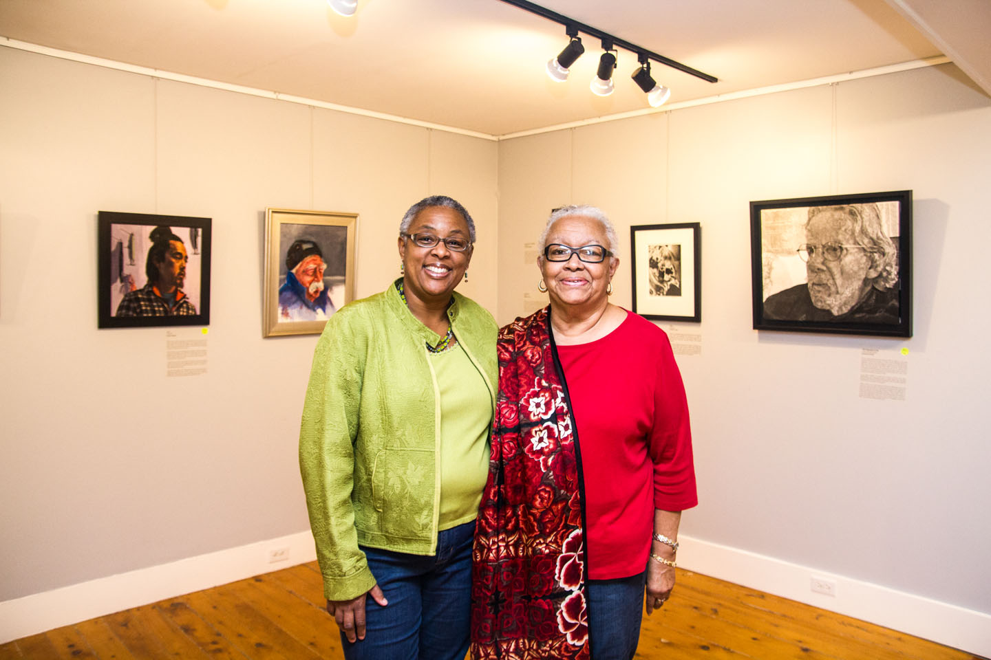 Ann Smith and Francine Kelly recipients of the 2015 Creative Living Award
